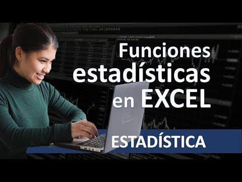 Excel Funciones Estadísticas Promedio Mediana Moda Y Desviación Estándar