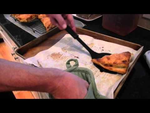 puff pastry apple turnovers by Linda!!
