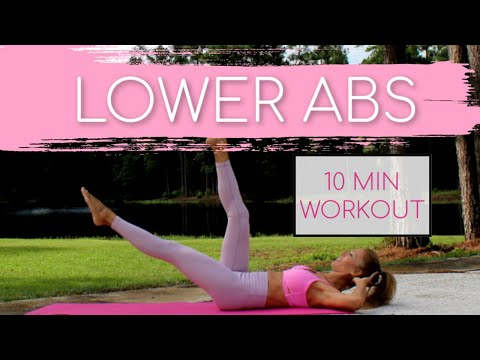 10 Min LOWER ABS WORKOUT [Lose Lower Belly Fat]