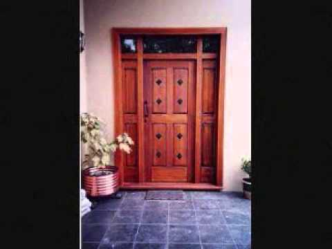 Puertas principales youtube - Puertas de madera para entrada principal ...
