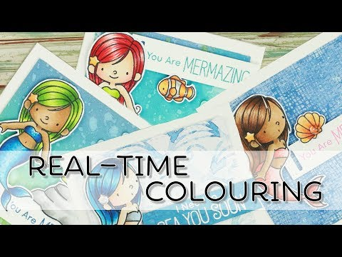 Real time Colouring | MFT Mermazing