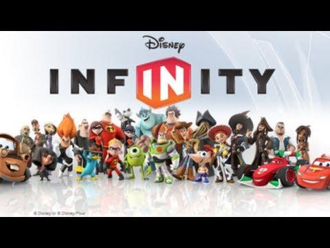 Disney Infinity Game Characters Unboxing Wii U Youtube
