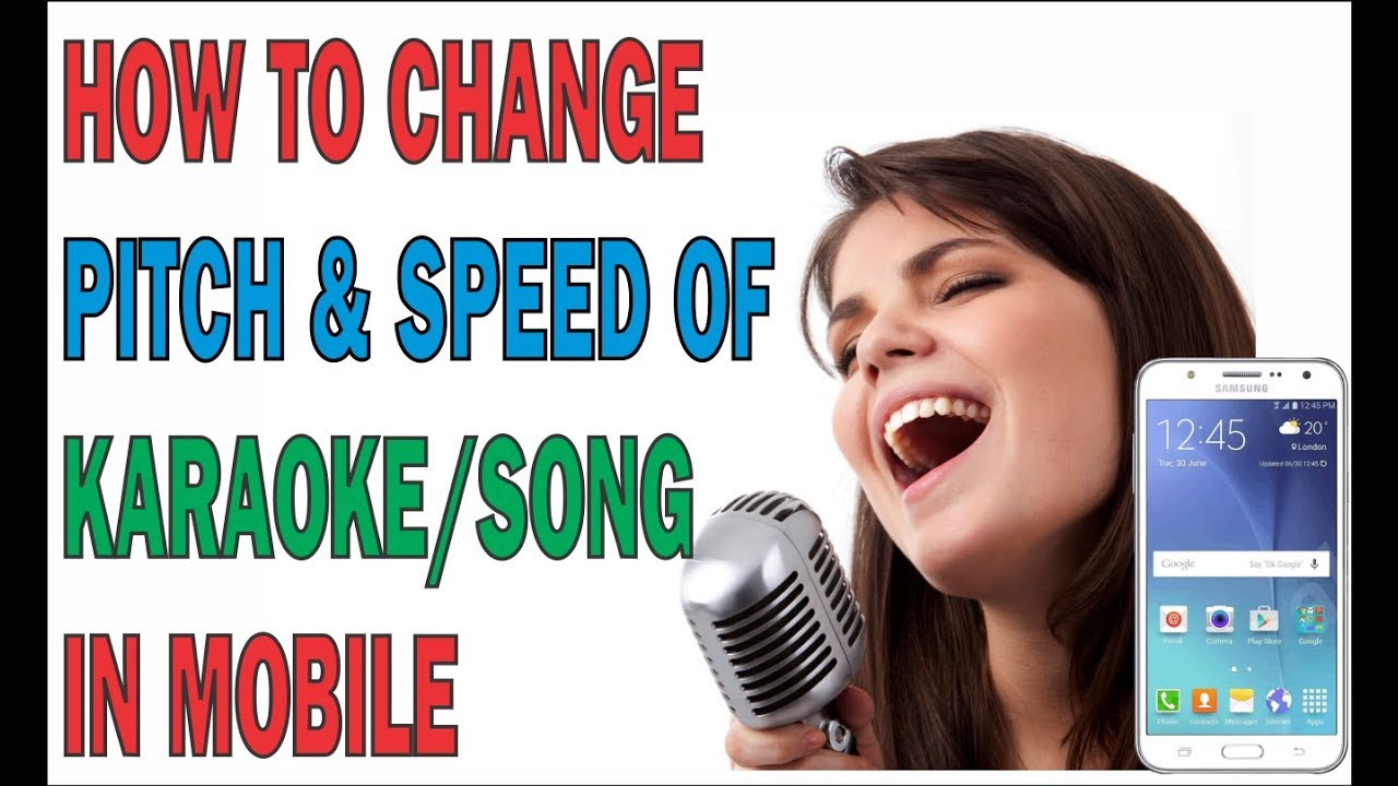 HOW TO CHANGE PITCH & SPEED OF KARAOKE/ SONG IN MOBILE|BEST TIPS FOR  PREPARE SONG BY MOBILE APP|