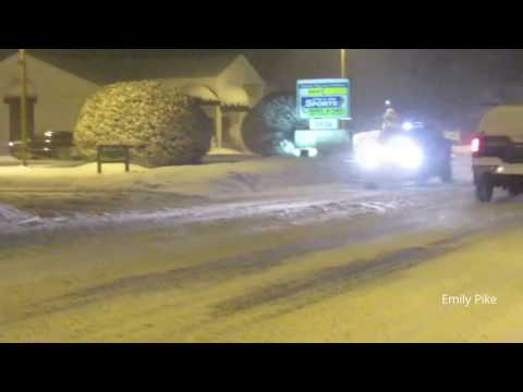 North Conway, NH December Snow Storm 2016