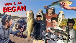 HOW IT ALL BEGAN LAKE ANNA BASS FISHING WITH A SPECIAL GUEST