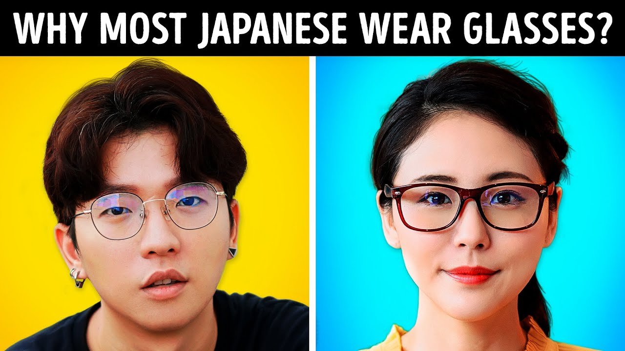 Why most Japanese wear Glasses and 22 Unique Facts
