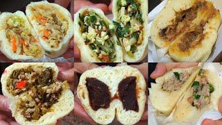 Taiwan street food⭐How to Making delicious buns ????Xinyi District, Taipei, Taiwan