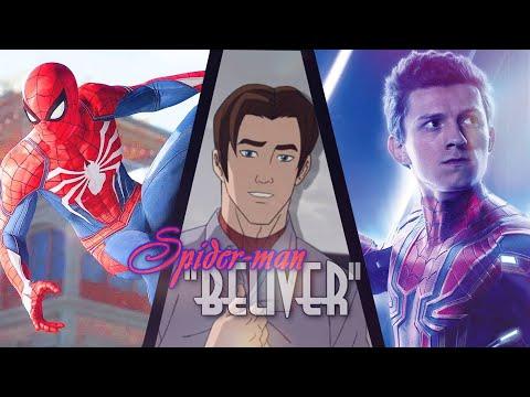 "#RUS Человек-паук клип ""Поверить""    #ENG Spider-man Music Video ""Believer"" Russian Cover"