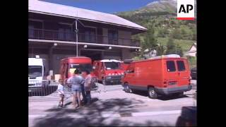FRANCE: HAUTES-ALPES: CABLE CAR DISASTER (3)