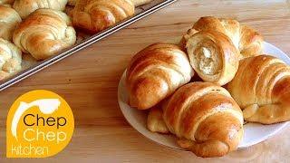 CRAB BUTTER BUNS _ Bánh mì ngọt CON CUA