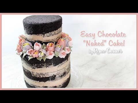 how to make a naked wedding cake chocolate cake ft russian tips giveaway closed 15824