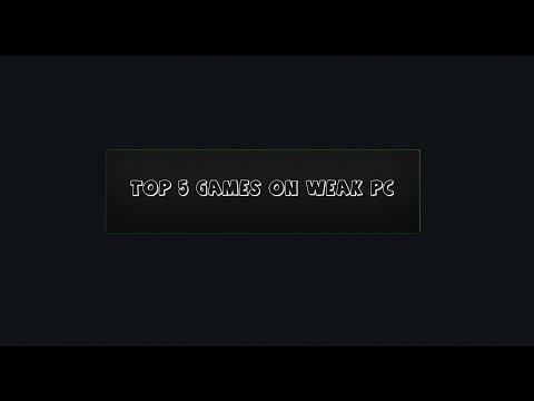 ТОП 5 самых интересных игр которые идут на слабый ПК