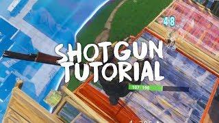 Pro Shotgun Aim Tutorial (Shotgun Tips and Tricks) - Fortnite PS4/XBOX