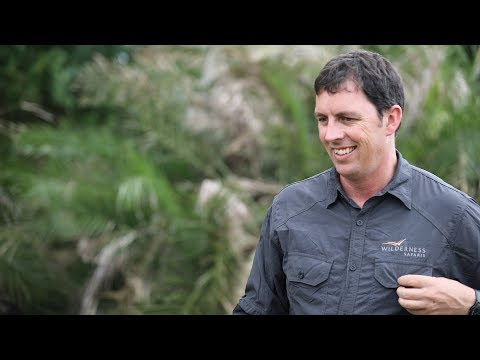 Kai Collins, Group Conservation Manager at Wilderness Safaris