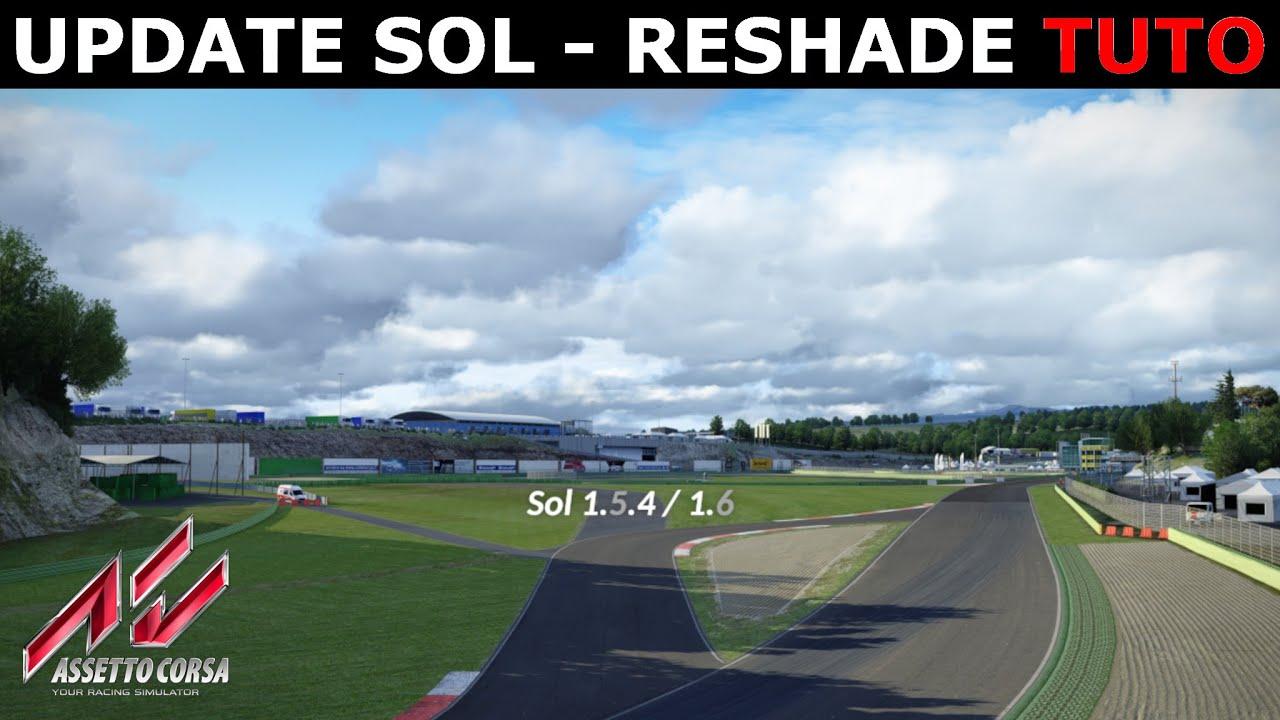 Top Update Sol + Reshade - Tuto
