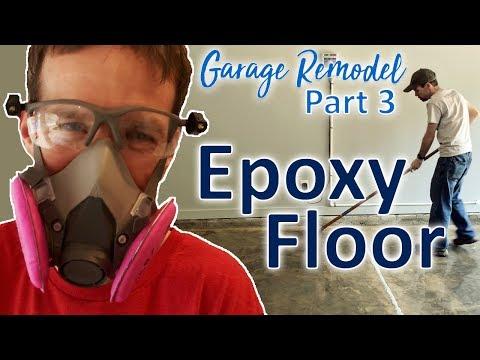 DIY Garage Remodel - Part 3 - Epoxy Floor