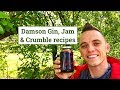 Damson recipes; Gin, Jam & Crumble the fast way!