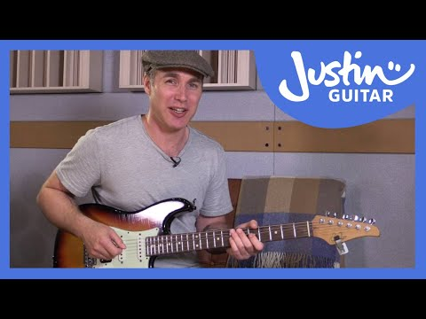 Funky Single Note Lines, Funk Grooves & Cool Techniques: Funk Guitar Course Lesson Tutorial s1p9