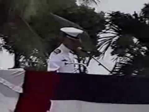 CBMU-302 Decommissioning Ceremony, Agana Guam, 18 July 1994, Part 2 of 3