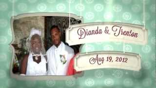 Diandra & Trenton Sainville Wedding Party Slideshow