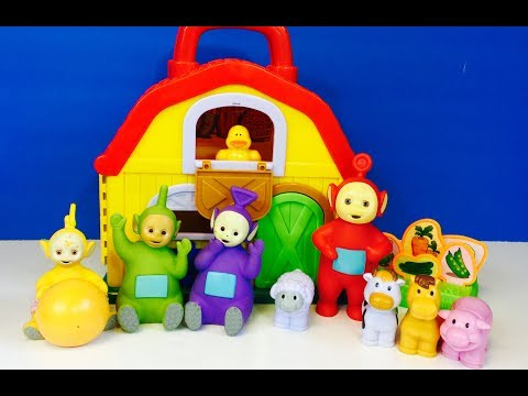 Смотрите сегодня видео новости LEARNING FARM ANIMALS Names and Sounds with  the TELETUBBIES Toys! на онлайн канале Russia-Video-News Ru