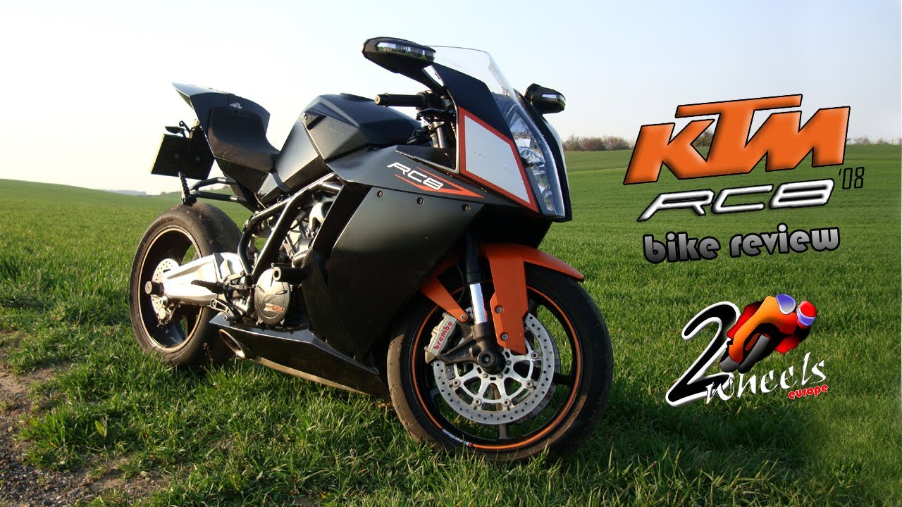 ktm rc8 08 bike review 2wheelseurope hd youtube