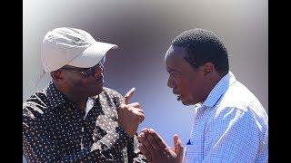 """""""Mkandarasi hela ushakula napiga simu unakata, siukubali huu uhuni"""" WAZIRI MBARAWA"""