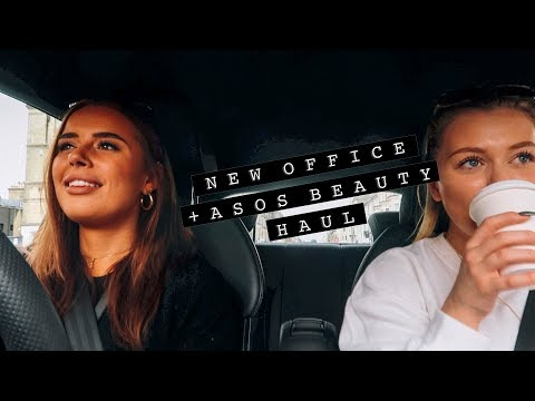 NEW OFFICE SPACE + ASOS BEAUTY HAUL | Hello October Vlogtober