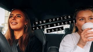 NEW OFFICE SPACE + ASOS BEAUTY HAUL | Hello October Vlogtober