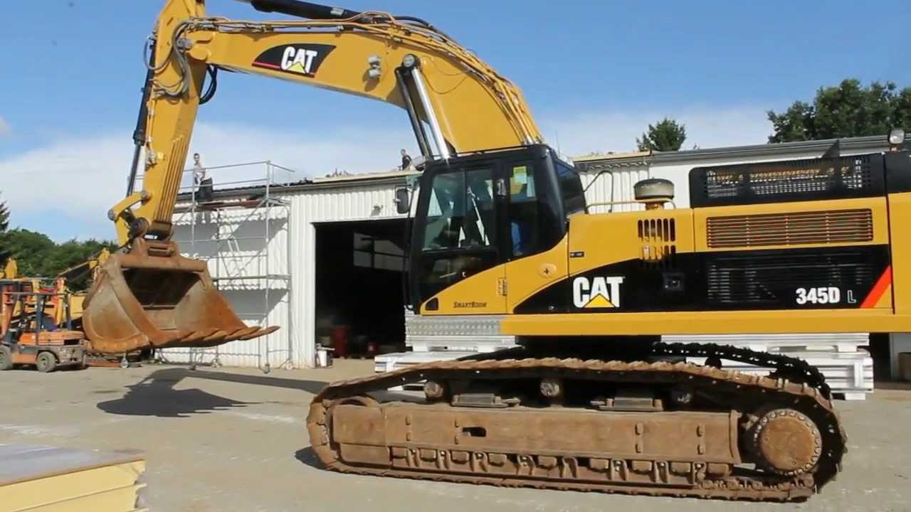 Caterpillar 345 DL, 2009, 8.000 h #RGG00210 - YouTube