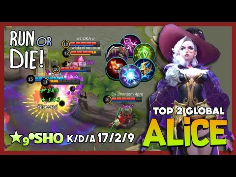 Rework Alice? Mid Lane Mode Assassins? ★₉•sʜᴏ Top 2 Global Alice ~ Mobile Legends