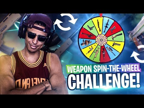 *NEW* FORTNITE SPIN-THE-WHEEL WEAPON CHALLENGE! Fortnite Battle Royale
