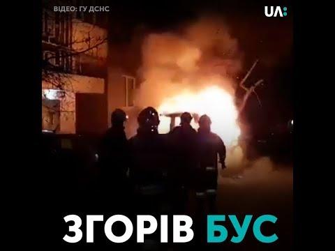 Телеканал UA: Рівне: На Буковинській згоріла машина, імовірно – підпал