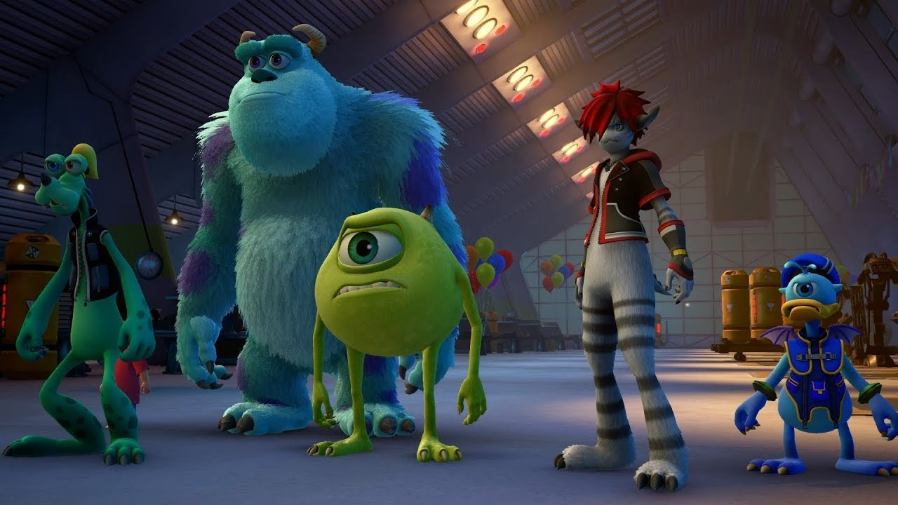 Kingdom Hearts 3 Monsters Inc D23 Reveal Trailer