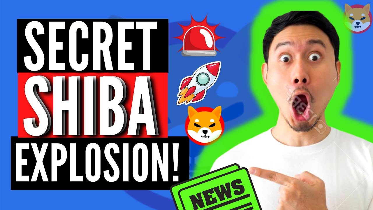 SECRET EXPLOSION Of Shiba Inu Coin SHIB Planned!