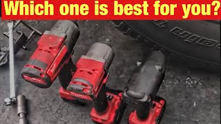 Which Milwaukee M18 FUEL Impact Gun is Best for You: High Torque, Mid Torque, or 3/8 Impact?