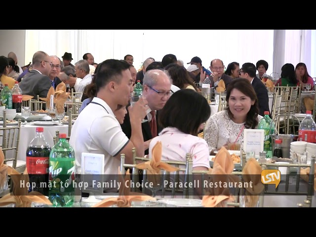 TIN DIA PHUONG Họp mặt tổ hợp Family Choice 2019 10 29