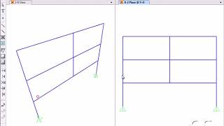 SAP2000   19 Nonlinear Staged Construction  Watch & Learn