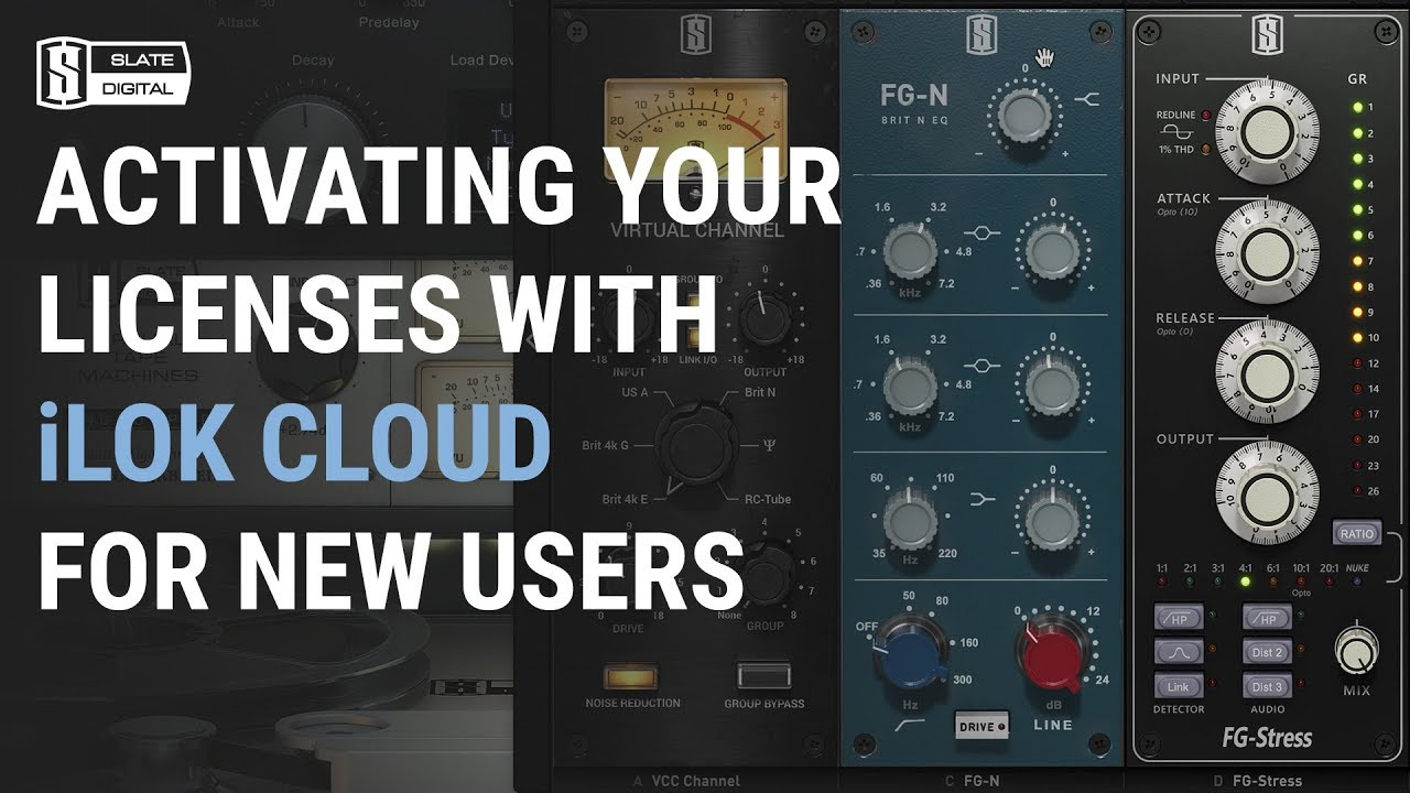 Activate and Use my Plugins with iLok Cloud – Slate Digital