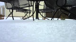 Burlington Snowfall Measurement