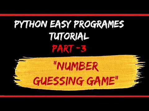number-guessing-game-|-python-tutorial-|-part-3