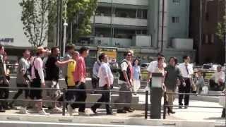 東京スカイツリーでテレビ放送 2012年の5月の22です はんにゃ 金...