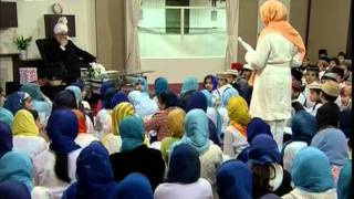 Bustan-e-Waqfe Nau, 29 March 2009, Educational class with Hadhrat Mirza Masroor Ahmad(aba)