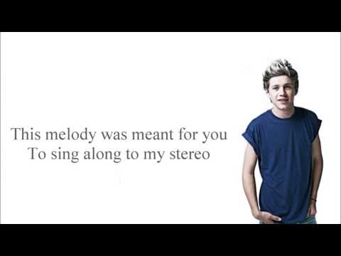 Niall Horan   Stereo Hearts Lyrics + Pictures