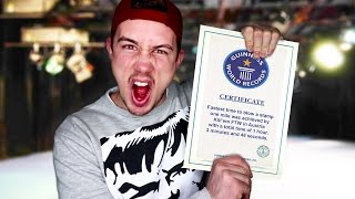 Breaking CRAZY Guinness World Records
