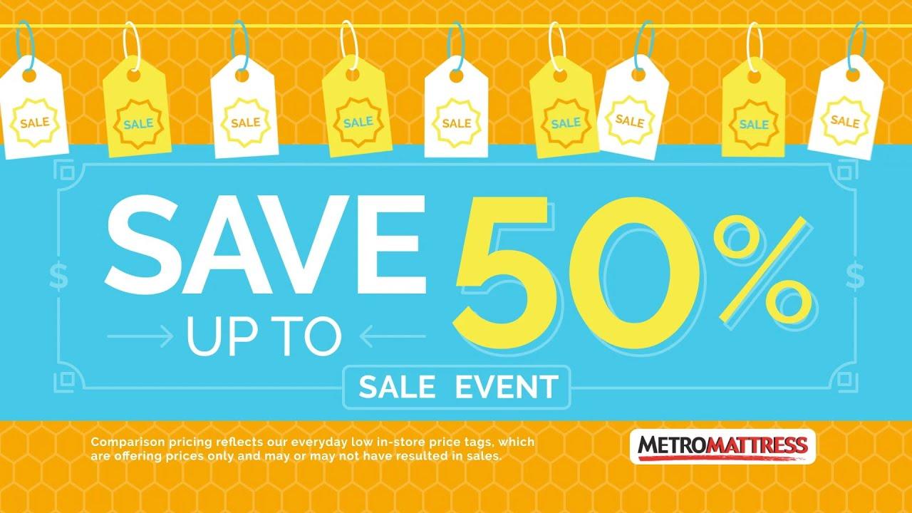 """Metro Mattress """"Save Up to 2016"""""""