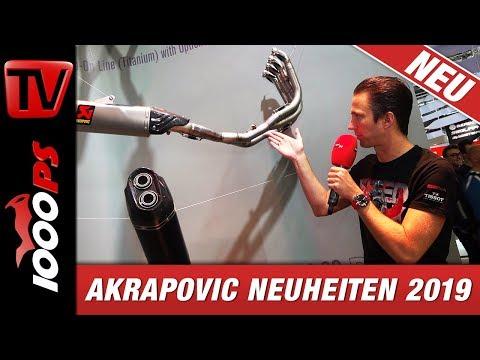 Akrapovic 2019 - MotoGP, neue Modelle und härtere Tests