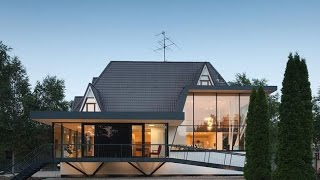 Modern European Cottage -combination Of Modern House Design & Traditional European House