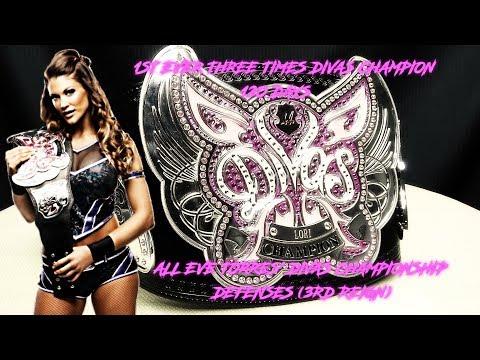 All Eve Torres' Divas Championship Defenses (3RD REIGN)