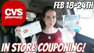 CVS IN STORE COUPONING 2/18/18-2/24/18!  MONEYMAKERS/FREEBIES/CHEAP DIAPERS & MORE!
